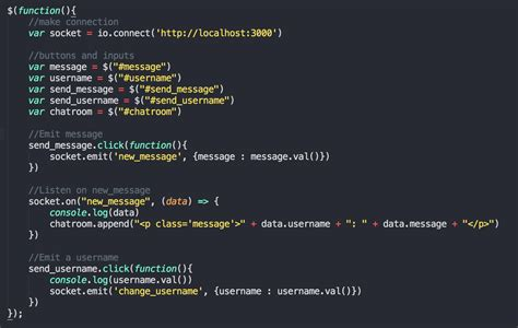 simple chat node js socket io build a simple chat app with node js and socket io