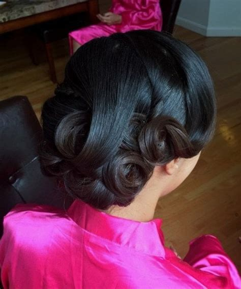 black wedding hairstyles with curls 20 gorgeous black wedding hairstyles