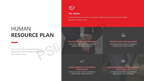Human Resource Plan Powerpoint Template Pslides Human Resources Powerpoint Template