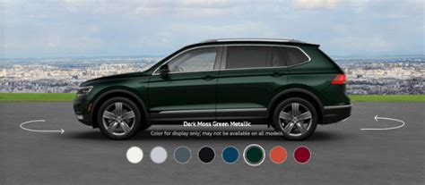 dark green volkswagen 2018 volkswagen tiguan color options