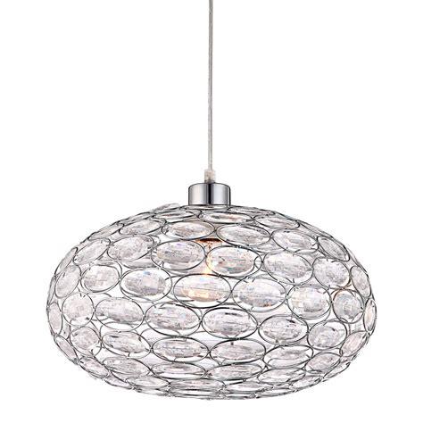 lampara de techo fabrizia transparente lamparas  iluminacion luzete