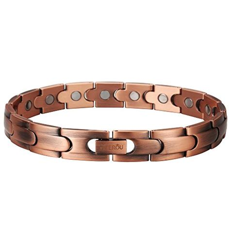viterou magnetic solid copper therapy bracelet for