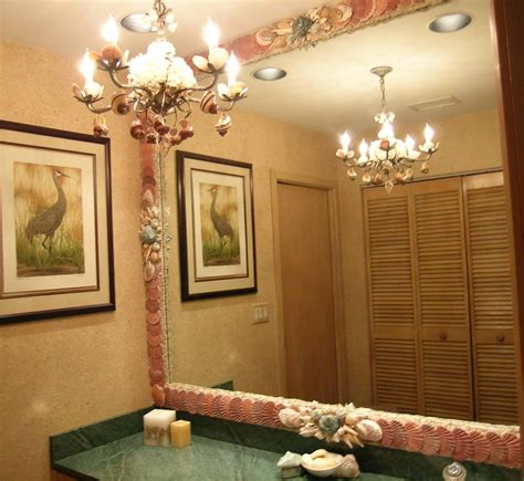 seashell bathroom ideas decorating bathroom with seashells room decorating ideas