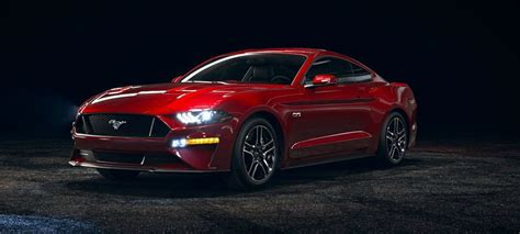 2018 Mustang Side View by 2018 Ford Mustang Ruby Front Side View O Kovatch Ford