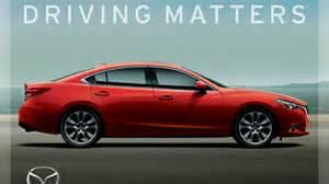 goodbye zoom zoom driving matters is mazda s new slogan