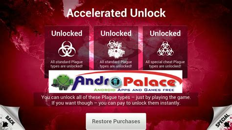 plague inc apk version plague inc 1 6 3 unlocked apk andropalace