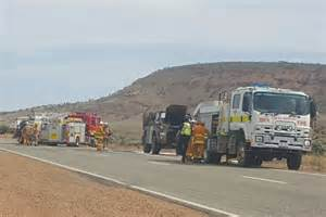 Truck Wheel Alignment Port Augusta Army Truck On Eyre Highway Causes Traffic Delays