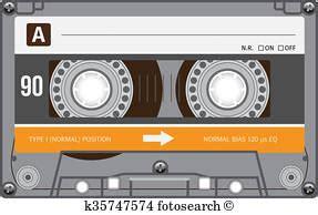 cassette vendemmia anni ottanta archivio artistico illustrazioni 450 anni