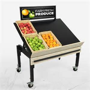 produce display tables fruit and vegetable display rack