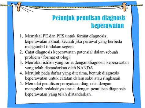 format asuhan keperawatan nanda dokumentasi diagnosa keperawatan ppt saji