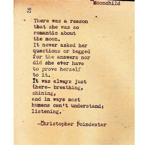 Moon child poem  Christopher Poindexter   Quotes