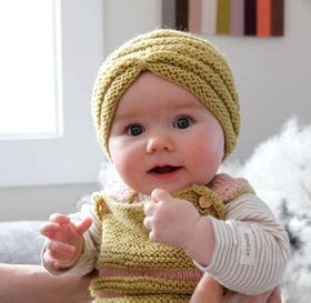 milk cotton knitted turbans for babies