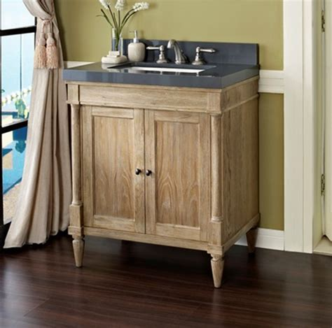 weathered oak bathroom vanity rustic chic 30 quot vanity weathered oak fairmont designs fairmont designs