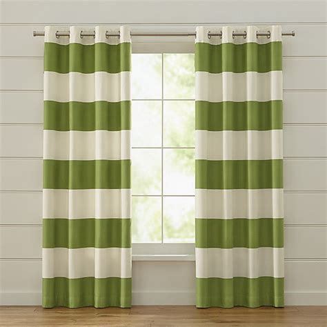 green horizontal striped curtains 25 best ideas about green curtains on pinterest green