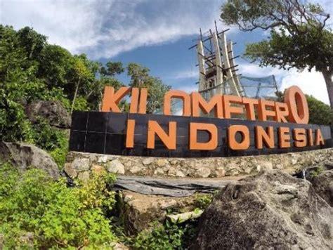 Dari Kilometer 0 0 tugu km 0 dalam renovasi foto tugu 0 km indonesia