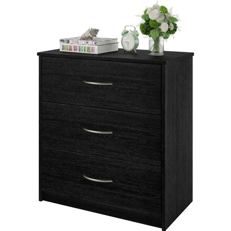 3 drawer dresser white 3 drawer dresser chest bedroom furniture black brown white