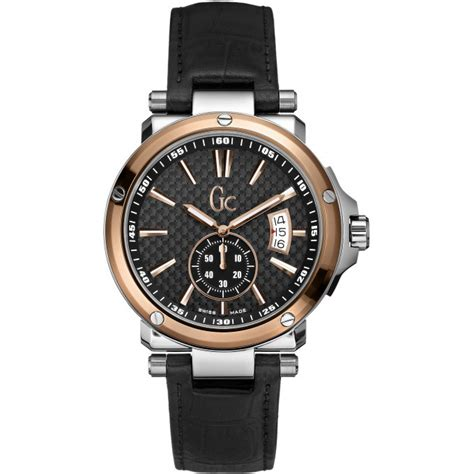 Guess Collection Gc 3 X72027g7s montre gc guess collection cuir x72005g2s homme