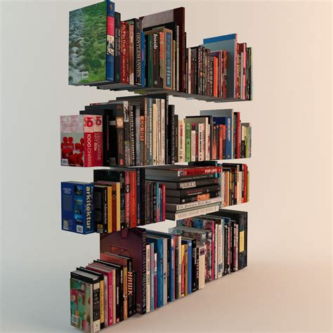 3d picture books 188 realistic books 3d model max obj fbx cgtrader