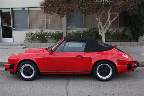 porsche 911 convertible 1980 porsche 911 sc fifth generation 1978 to 1983