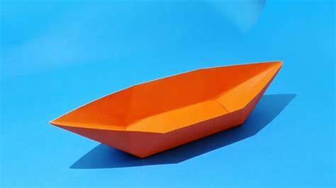 origami boat yacht how to make a paper boat that floats origami boat