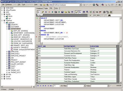 sql select ruhrsoft softwareentwicklung