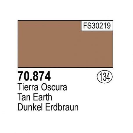 Vallejo Earth Model Color 70874 vallejo acr 237 lico model color tierra oscura 134 bote 17 ml con cuentagotas especialmente