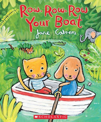 row your boat actions row row row your boat scholastic shop