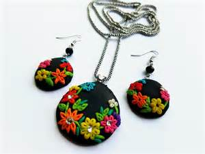 Clay Handmade - and craft work handmade clay jewelry by me