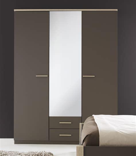 Armoire Penderie Avec Miroir   Maison Design   Modanes.com