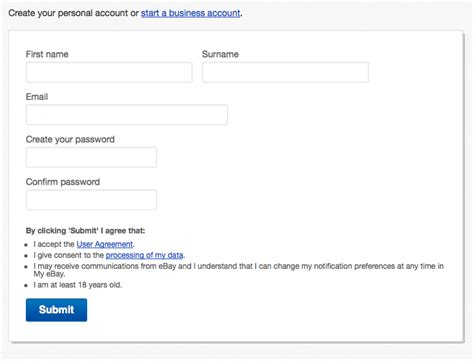 ebay email address how to sell on ebay