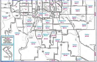 Denver Zip Code Map by Denver Zip Codes Map Search Denver By Zip Code