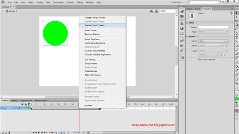 membuat powerpoint dengan flash cara membuat animasi bergerak sederhana dengan adobe flash