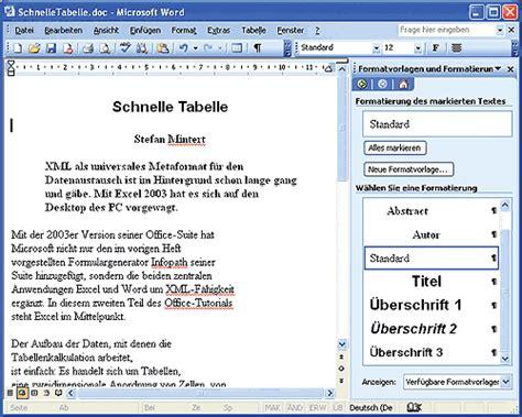 xml tag pattern tutorial xml in word 2003 ix