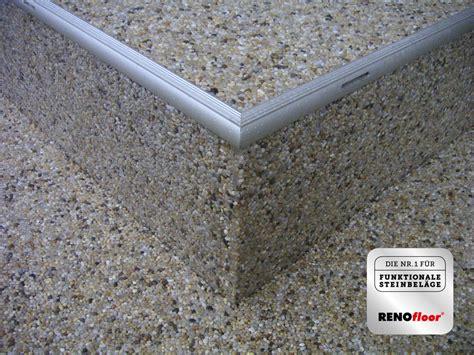 Steinteppich Auf Holztreppe by Untergrund F 252 R Steinteppich Steinteppich Grundierung