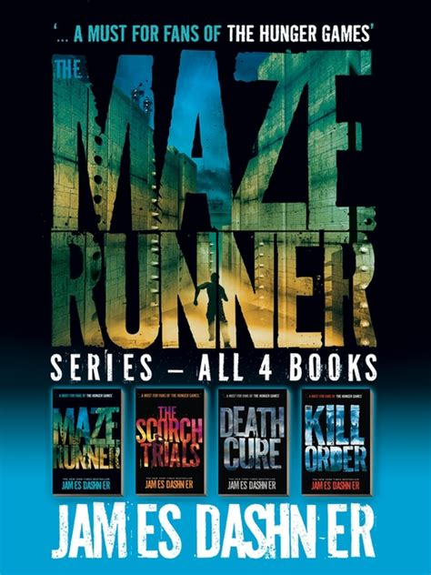 The Maze Runner Series summer reading book series for and tweens