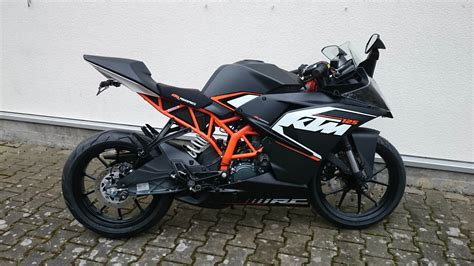 Motorrad Ktm Rc 125 by Umgebautes Motorrad Ktm Rc 125 Von Hmf Motorr 228 Der Gmbh