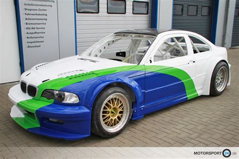 bmw m3 gtr kit replica for m3 e46