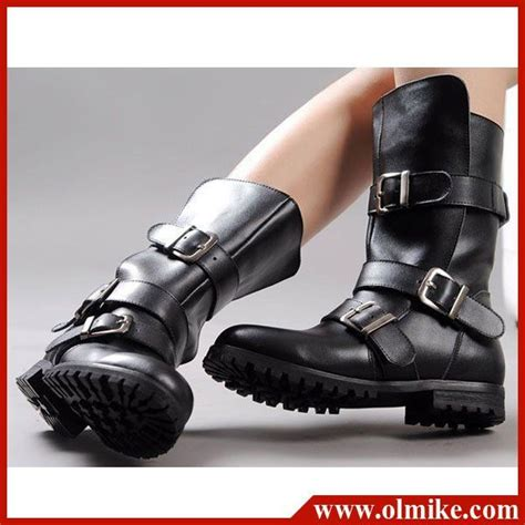 womens bike riding boots free shipping fashion style lady shoes winter motorcycle