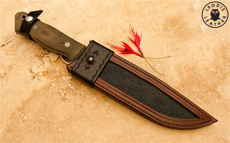 custom knife parts miscellaneous custom leather knife sheaths