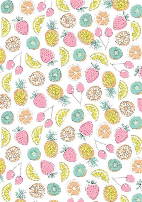 fruit pattern hd background cherries citrus fruit fruits image