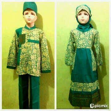 Gamis Anak Rauna Ra 10 seragam baju muslim maret 2014