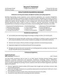 sample resume facilities engineer - Facility Engineer Sample Resume
