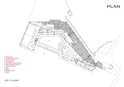 architectural plans gallery of jiahe boutique hotel shangai dushe