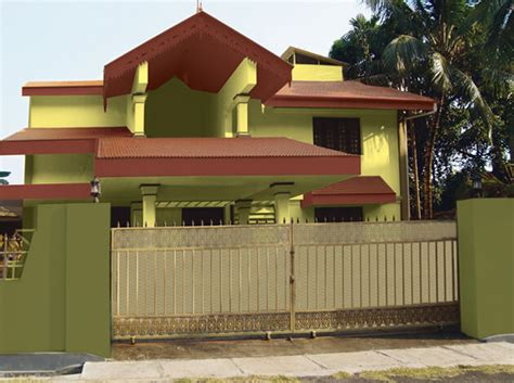sense of exterior colours exterior wall painting schemes berger paints