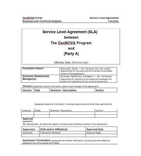 50 Professional Service Agreement Templates Contracts Service Agreement Template Doc