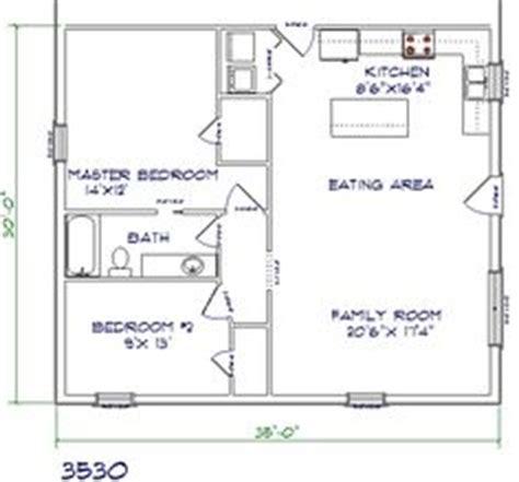 2 bedroom house plans 30x40 barndominium floor plans 30x40 with 2nd floor joy studio
