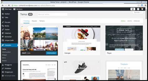 membuat tema untuk wordpress cara membuat wordpress indonesia emerer com
