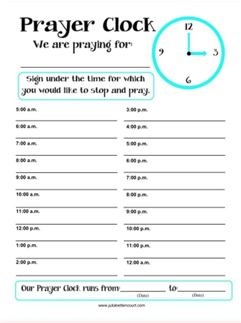 Womens Ministry Printable Forms Creative Ladies Ministry Party Invitations Ideas 24 Hour Prayer Sign Up Sheet Template