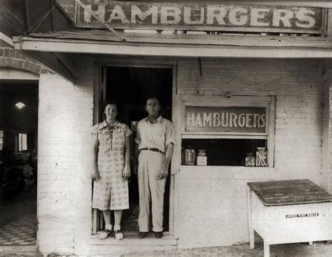 K Cowo Boy Place 1930s photo of roy clont s hamburger place in downtown waxahachie history
