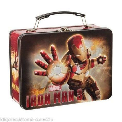 iron man lunch box ebay